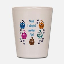 Cute Cat lover Shot Glass