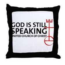 God Is Still Speaking Throw Pillow