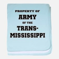 Property of Army of the Trans-Mississippi baby bla