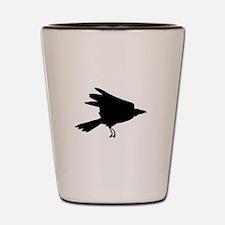 Cool Crow Shot Glass