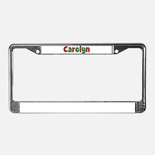 Carolyn Christmas License Plate Frame