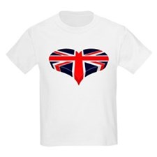Union Jack Heart / I love Great Britain T-Shirt