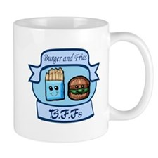 Burger and Fries BFFs Mug