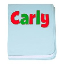 Carly Christmas baby blanket