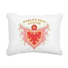 worlds_best_w_auntie.png Rectangular Canvas Pillow