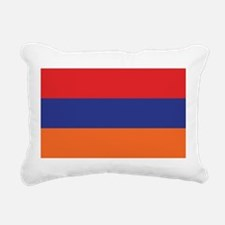 flag_armenia.png Rectangular Canvas Pillow
