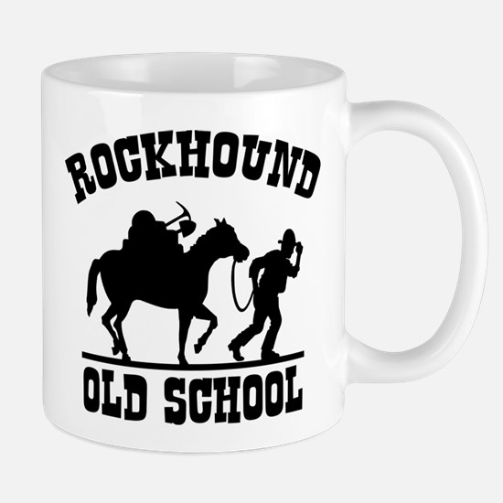 Rockhound Old School Mug