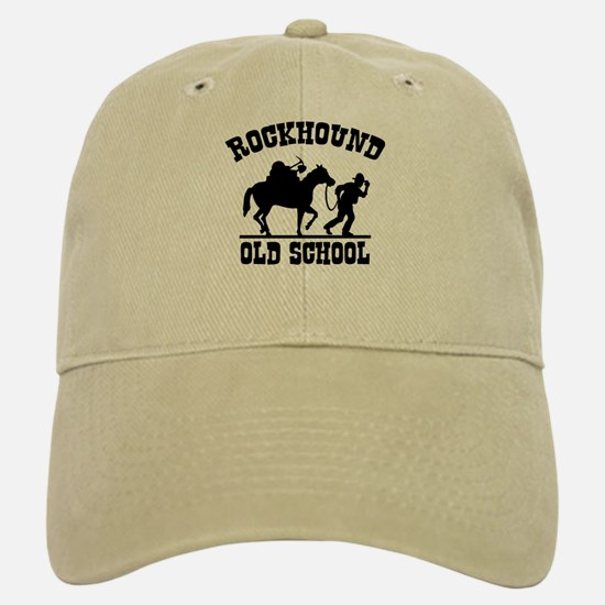 Rockhound Old School Baseball Baseball Cap