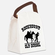 Rockhound Old School Canvas Lunch Bag