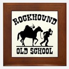 Rockhound Old School Framed Tile