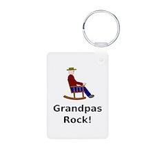 Grandpas Rock Keychains