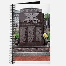 World War II Memorial Journal