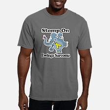 Elephant Stomp On Ewings Mens Comfort Colors Shirt