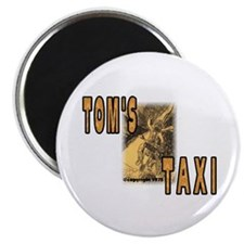"Tom's Taxi 2.25"" Magnet (100 pack)"