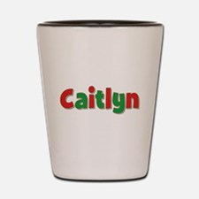 Caitlyn Christmas Shot Glass