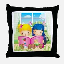 Take a Look at My Book Throw Pillow