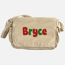 Bryce Christmas Messenger Bag