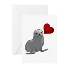 Baby Seal Club and Release Greeting Cards (Package