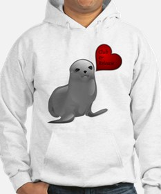 Baby Seal Club and Release Hoodie