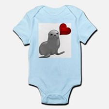 Baby Seal Club and Release Infant Bodysuit
