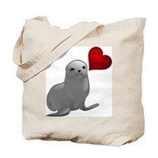 Baby Seal Club and Release Tote Bag