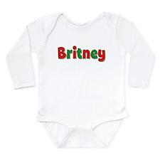 Britney Christmas Onesie Romper Suit