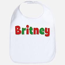 Britney Christmas Bib