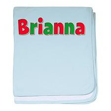 Brianna Christmas baby blanket