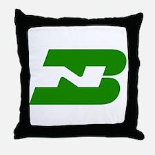 Burlington Northern Throw Pillow