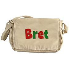 Bret Christmas Messenger Bag
