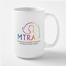 MTRA Rainbow Logo Large Mug