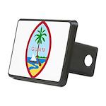 Seal of Guam Rectangular Hitch Cover