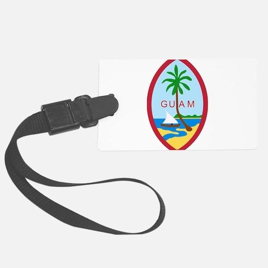 Seal of Guam Luggage Tag