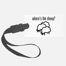 Where's The Sheep? Luggage Tag