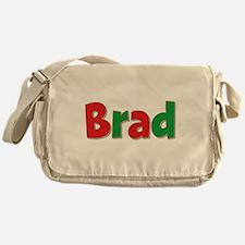 Brad Christmas Messenger Bag
