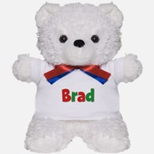 Brad Christmas Teddy Bear