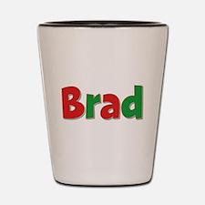 Brad Christmas Shot Glass