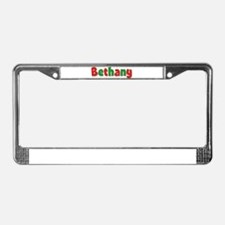 Bethany Christmas License Plate Frame