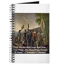 Christopher Columbus Lands Journal