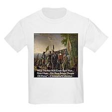 Christopher Columbus Lands T-Shirt