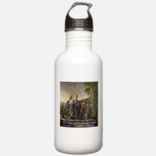 Christopher Columbus Lands Water Bottle