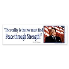 Ronald Reagan Bumper Sticker
