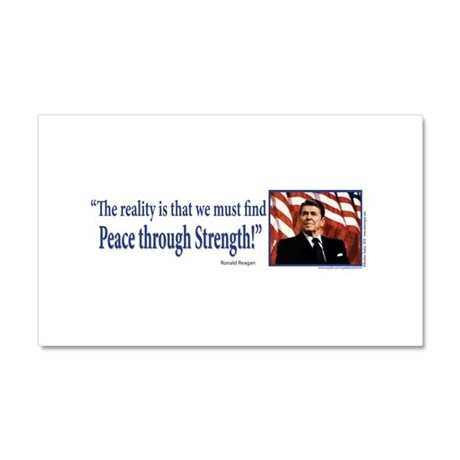 Ronald Reagan Car Magnet 20 x 12