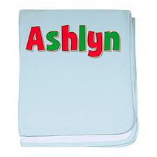 Ashlyn Christmas baby blanket