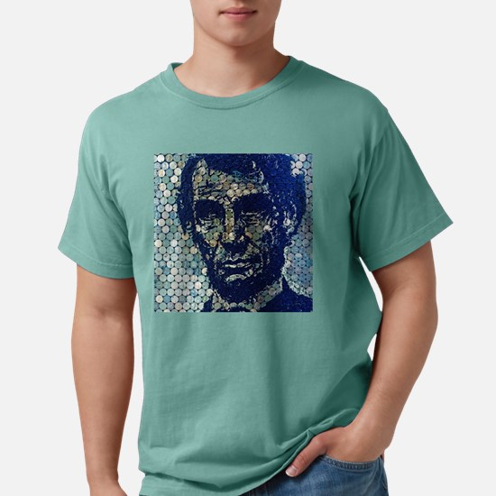 Lincoln Blot by Lowell S Mens Comfort Colors Shirt
