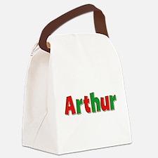 Arthur Christmas Canvas Lunch Bag
