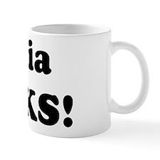 Silvia Rocks! Mug
