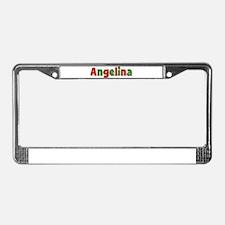 Angelina Christmas License Plate Frame