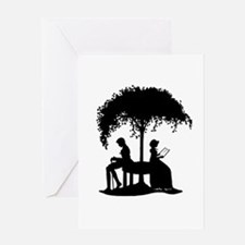 Jane Austen Lovers Greeting Card