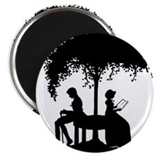 Jane Austen Lovers Magnet